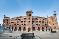 Las Ventas tjurfäktningsarena i Madrid, Spanien Royaltyfri Fotografi