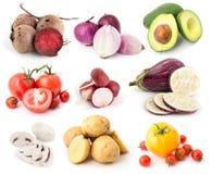 Las verduras fijaron 11 foto de archivo libre de regalías