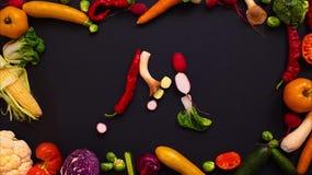 Las verduras hicieron la letra M metrajes
