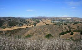 Las Virgenes overziet Panorama Stock Afbeeldingen