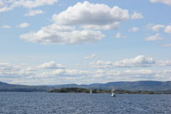 Las vistas de Oslo Fotos de archivo