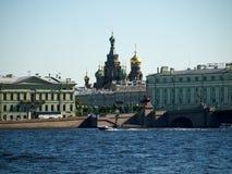 Las vistas de St Petersburg 2 Imagen de archivo