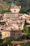 Las vistas de Valldemossa Imágenes de archivo libres de regalías