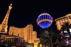 las światła Vegas Zdjęcia Royalty Free