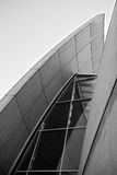 Las zambullidas en la iglesia de Misericordia en negro y blanco Imagen de archivo libre de regalías