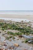 Las zonas costeras son piedras llenadas Fotos de archivo libres de regalías