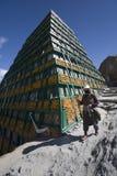 Lasa en Tíbet Fotografía de archivo libre de regalías