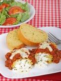 lasagna обеда Стоковые Фото