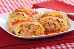 lasagna свертывает поднимает Стоковые Изображения RF