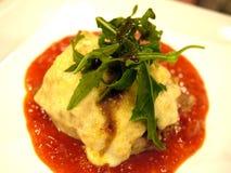 lasagna цыпленка Стоковые Изображения RF