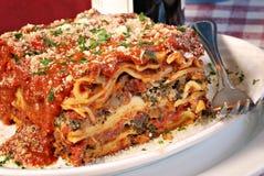 lasagna Στοκ εικόνα με δικαίωμα ελεύθερης χρήσης