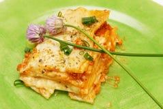 Lasagna Fotografie Stock Libere da Diritti