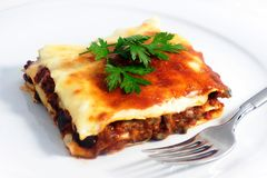 Lasagna Imagem de Stock Royalty Free