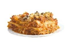 Lasagna. Stock Photo