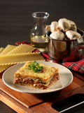 Lasagna. Traditional food form italy called lasgna Royalty Free Stock Photography