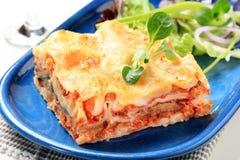 Lasagna Stock Photo