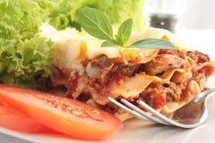 Lasagna Fotos de Stock Royalty Free