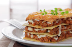 Lasagna, Royalty Free Stock Photo