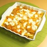 Lasagna Royaltyfri Fotografi