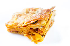 Lasagna Stock Foto's