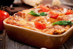 Lasagna Royalty Free Stock Photo