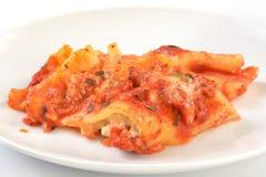 lasagna Fotografie Stock