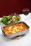 Lasagna Στοκ Φωτογραφίες