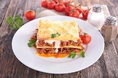 Lasagna Obraz Stock