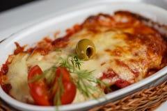 Lasagna obrazy royalty free