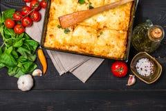 ιταλικό lasagna παραδοσιακό Στοκ φωτογραφία με δικαίωμα ελεύθερης χρήσης