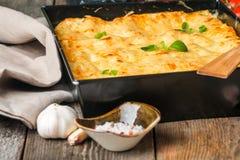 ιταλικό lasagna παραδοσιακό Στοκ φωτογραφίες με δικαίωμα ελεύθερης χρήσης