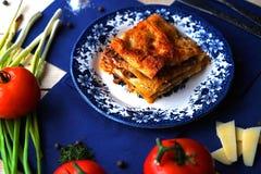 lasagna Foto de archivo