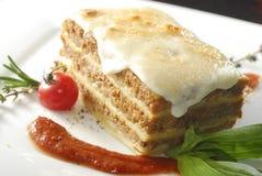 lasagna Στοκ φωτογραφίες με δικαίωμα ελεύθερης χρήσης
