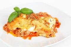 lasagna Immagini Stock