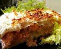 lasagna Stock Foto