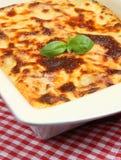Lasagna al Forno Stock Image
