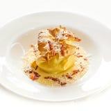 Lasagna. Appetizing italian lasagna  with cheese Stock Image