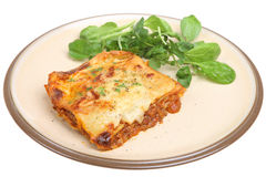 Lasagna with Beef stock photo