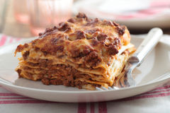 Lasagna Bolognese Stock Images