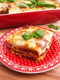 Lasagna Bolognese Stock Photos