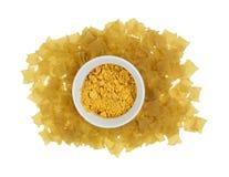 Lasagna Chips Cheese Mix Stock Photo
