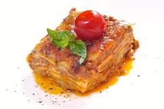Lasagna clássico bolonhês foto de stock royalty free