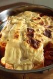 Lasagna cocido al horno Fotos de archivo libres de regalías