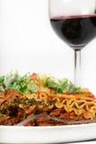 Lasagna Dinner Stock Photos