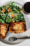 Lasagna Dinner Royalty Free Stock Photos