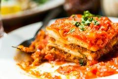 Lasagna Royalty Free Stock Photos