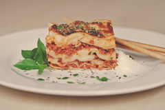 Lasagna Royalty Free Stock Image