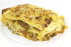 Lasagna italiano Imagem de Stock Royalty Free