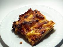 Lasagna italiano Foto de Stock