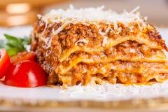 Lasagna italiano Imagen de archivo